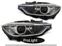 PHARES HEADLIGHTS ANGEL EYES LED BLACK fits BMW F30/F31 10.11 - 05.15 (la paire) [eclcdt_tec_LPBMH1]