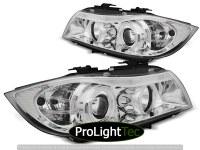 PHARES HEADLIGHTS ANGEL EYES CCFL CHROME fits BMW E90/E91 03.05-08.08 (la paire) [eclcdt_tec_LPBMH6]