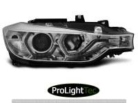 PHARES HEADLIGHTS ANGEL EYES LED DRL CHROME fits BMW F30/F31 10.11 - 05.15  (la paire) [eclcdt_tec_LPBMI7]