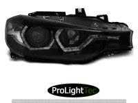 PHARES HEADLIGHTS ANGEL EYES LED DRL BLACK fits BMW F30/F31 10.11 - 05.15 (la paire) [eclcdt_tec_LPBMI8]