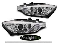 PHARES XENON HEADLIGHTS ANGEL EYES LED DRL CHROME fits BMW F30/F31 10.11 - 05.15 (la paire) [eclcdt_tec_LPBML9]