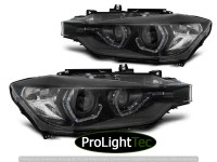 PHARES XENON HEADLIGHTS ANGEL EYES LED DRL BLACK AFS fits BMW F30/F31 10.11 - 05.15 (la paire) [eclcdt_tec_LPBMM2]