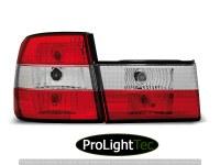 FEUX ARRIERE TAIL LIGHTS RED WHITE fits BMW E34 02.88-12.95 SEDAN (la paire) [eclcdt_tec_LTBM10]