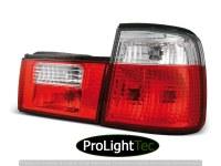 FEUX ARRIERE TAIL LIGHTS RED WHITE fits BMW E34 02.88-12.95 (la paire) [eclcdt_tec_LTBM25]