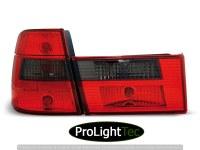 FEUX ARRIERE TAIL LIGHTS RED SMOKE fits BMW E34 91-96 TOURING (la paire) [eclcdt_tec_LTBM59]
