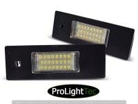 ECLAIRAGE DE PLAQUES LICENSE LED LIGHTS fits BMW E63/E64/E81/E87/Z4/MINI (la paire) [eclcdt_tec_PRBM05]