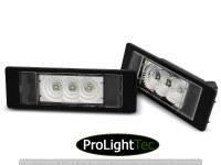 ECLAIRAGE DE PLAQUES LICENSE LED LIGHTS CLEAR fits BMW E63/E64/E81/E87/Z4/MINI  (la paire) [eclcdt_tec_PRBM09]