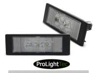 ECLAIRAGE DE PLAQUES LICENSE LED 3x LIGHTS CLEAR fits BMW E63/E64/E81/E87/Z4/MINI (la paire) [eclcdt_tec_PRBM12]