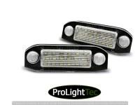 ECLAIRAGE DE PLAQUES VOLVO  S40 / V50 / S60 / V70 / S80 / XC60 / XC70 / XC90 LED (la paire) [eclcdt_tec_PRVO01]