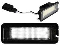 Eclairage de plaques LED VW Golf IV (la paire)