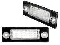 Eclairage de plaques LED VW Passat, Caddy, Golf, Touran (la paire)