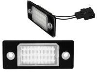 Eclairage de plaques LED VW Touareg, Tiguan, Golf V, Passat (la paire)