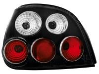 Feux arrière Renault Megane 5d/D/P 99-02 _ noir (la paire)
