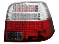 Feux arrière LED VW Golf IV 97-04 _rouge/cristal_avec clignotants LED (la paire)