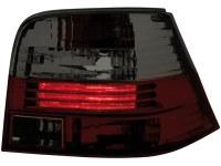 Feux arrière VW Golf IV 97-04 _ rouge/fumé (la paire)