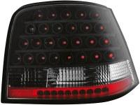 Feux arrière LED VW Golf IV 97-04 _ noir (la paire)