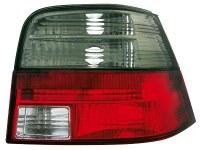 Feux arrière VW Golf IV 97-04 _ rouge/noir (la paire)