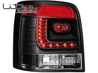 LITEC Feux arrière LED VW Passat 3B/G 97-05 _ noir (la paire)