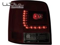 LITEC Feux arrière LED VW Passat 3B/G 97-05 _ rouge/fumé (la paire)