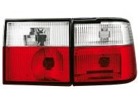 Feux arrière VW Vento (1HXO) 11/91-9/98 _ rouge/cristal (la paire)