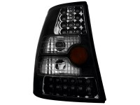 Feux arrière LED VW Bora Break + Golf IV Break _ noir (la paire)