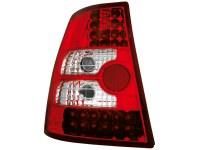 Feux arrière LED VW Bora Break + Golf IV Break _ rouge/cryst (la paire)