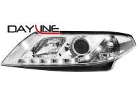 Phares DAYLINE Renault Laguna 01-10/05_Devil eyes _ chrome (la paire)