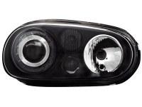 Phares VW Golf IV 97-04 R32-Look _ noir (la paire)