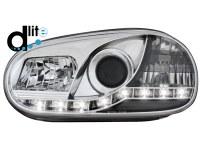Phares D-LITE VW Golf IV 98-02 DRL (la paire)