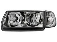 Phares VW Polo 6N 95-98 _ sans anneaux angeleyes (la paire)