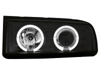 Phares VW Corrado 87-95 _ noir (la paire)
