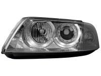 Phares VW Passat 3BG 00-04 _ 2 anneaux angeleyes _ chrome (la paire)
