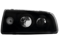 Phares VW Vento 91-98 _ noir (la paire)