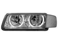 Phares VW Passat 35i B4 93-96 _ 2 anneaux angeleyes _ chrome (la paire)