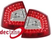 °LITEC LED feux arrière Skoda Octavia 1Z Lim. 04-11_red/clear Skoda Octavia  (la paire)