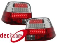 LED feux arrière VW Golf 4 97-04_ red/crystal _ LED Blinker VW VW Golf 4 97-04 (la paire)