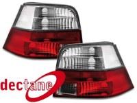 feux arrière VW Golf 4 97-04_ red/crystal VW VW Golf 4 97-04 (la paire)