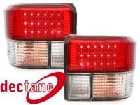 LED feux arrière Transporter T2 79 - 93 _ crystal/red VW Transporter T2 79 - 93  (la paire)