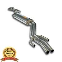 Supersprint 783223 Silencieux central + X-Pipe Acier 409 pour BMW E30 M3