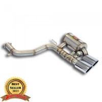 Supersprint 450527 Silencieux arrière Droite avec valve