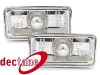 clignotants Clio 3 / Vento  -95 _ chrome VW Clio 3 / Vento 91 - 98  (la paire)