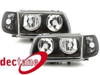 Phare Polo 6N 95 - 98 _ ohne Standlichringe _ black VW Polo 6N 95 - 98;XERH7 (la paire)