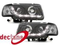 DECTANE Phare optic de jour Polo 6N 95 - 98 schwarz VW Polo 6N 95 - 98;XERH1 (la paire)