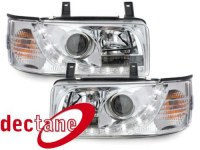 DECTANE Phare optic de jour Transporter T2 79 - 93  chrom VW Transporter T2 79 - 93 ;XERH1 (la paire)