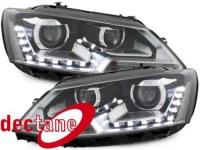 DECTANE Phare de jour VW Jetta 11-13 schwarz VW VW Jetta 6 , 11+ (la paire)