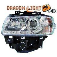 Phare Kit de projecteurs principaux 96-03 KLARGLAS/CHROM (la paire)