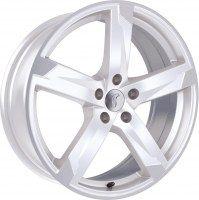 Rondell 01RZ [8,0 x 19] Racing-Weiß poliert
