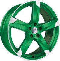 Rondell 01RZ [8,0 x 18] Racing-Grün poliert