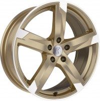 Rondell 01RZ [8,0 x 18] Racing-Gold poliert