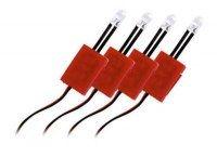 4 LED INT ROUGE